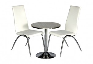 Short Elevate Table w Pandaria Chairs